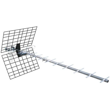 Antena exterior UHF con toma F