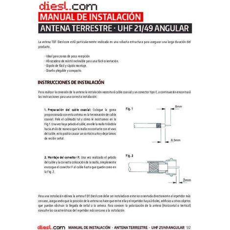 Antena TDT HD 5G