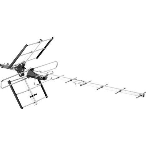 Antenne de toit TNT active One For All SV 9357 SV 9357 extérieure Amplification: 23 dB argent, noir 1 pc(s)