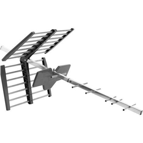 Antenne de toit TNT passive One For All SV 9453 extérieure argent-noir