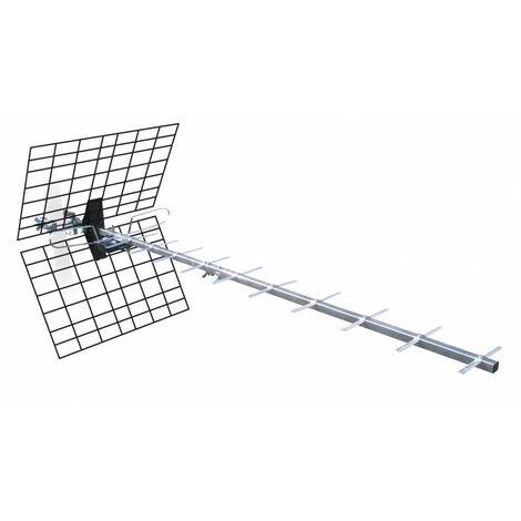 Antenne d'extérieur 20 dB à fiche F