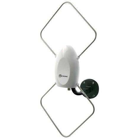 Antenne d'extérieur de proximité 26 dB - blanche
