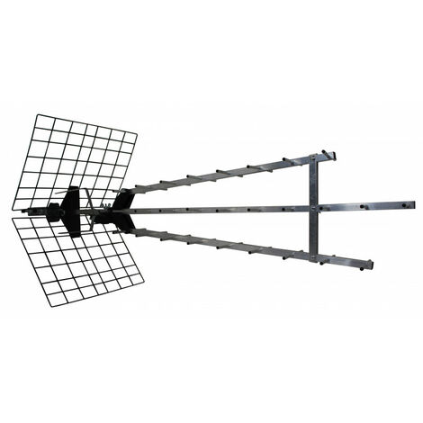 """main image of """"Antenne d'extérieur trinappe amplifiée 57 dB"""""""