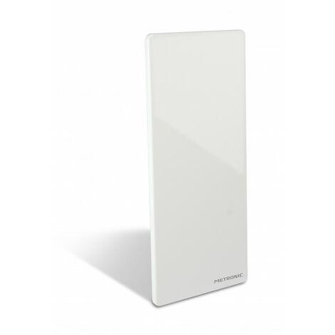 Antenne d'intérieur HD murale 50 dB - blanche