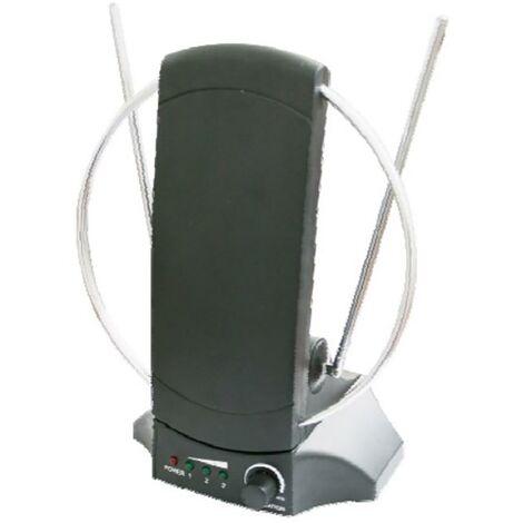 Antenne int�rieure Amplificateur Filtre 4G Electro Dh Noir 60.261