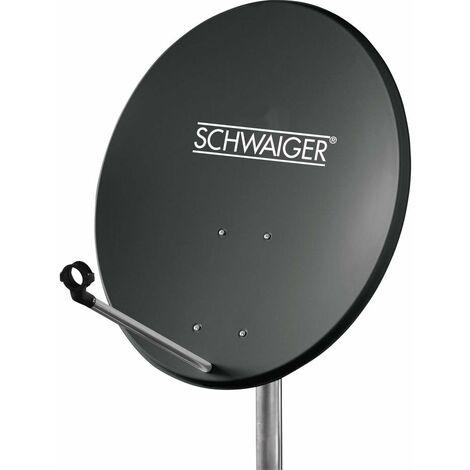 Antenne SAT 60 cm Schwaiger SPI550.1 Réflecteur: acier anthracite
