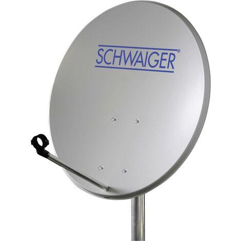 Antenne SAT 60 cm Schwaiger SPI550.2 Réflecteur: acier rouge brique