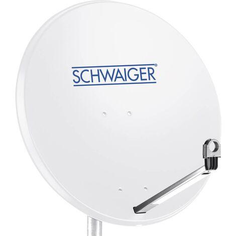 Antenne SAT 80 cm Schwaiger SPI996.0 Réflecteur: acier gris clair