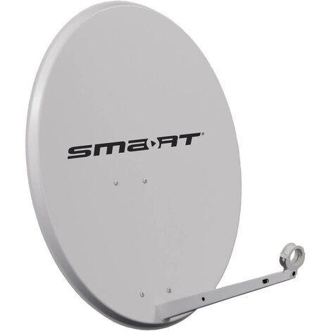 Antenne SAT 80 cm Smart SKC 80 Réflecteur: acier gris clair