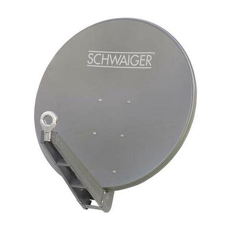 Antenne SAT 85 cm Schwaiger SPI085PR Réflecteur: aluminium anthracite