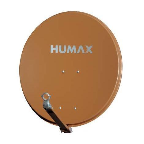 Antenne SAT 90 cm Humax 90 Pro Réflecteur: aluminium rouge brique