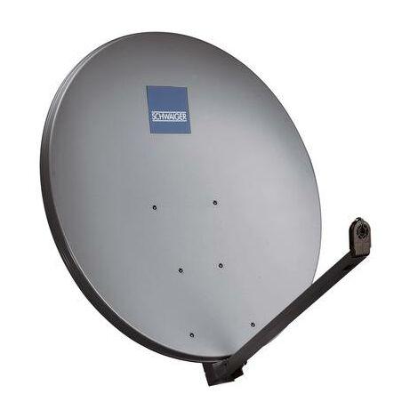 Antenne SAT 97 cm Schwaiger SPI1000.1 Réflecteur: aluminium anthracite