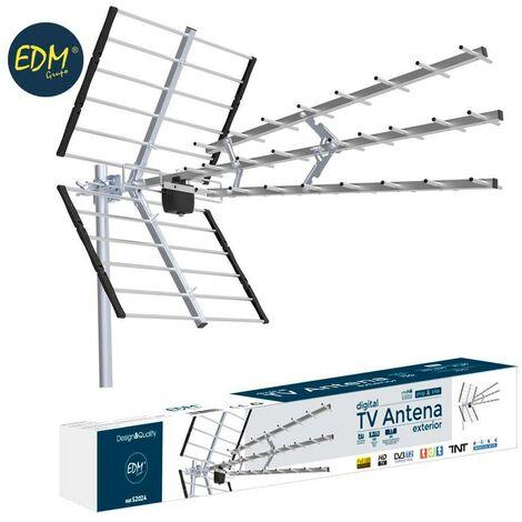 Antenne TV UHF extérieure EDM 470-790MHz série professionnelle 1020 mm EDM 52024
