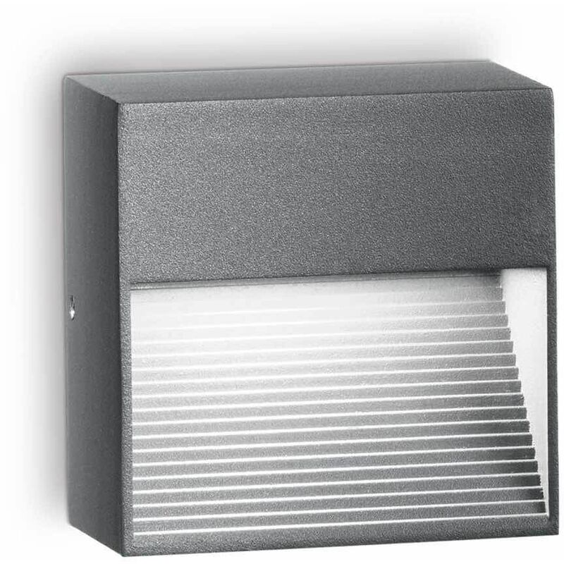 Image of 01-ideal Lux - Anthracite DOWN wall light 1 bulb