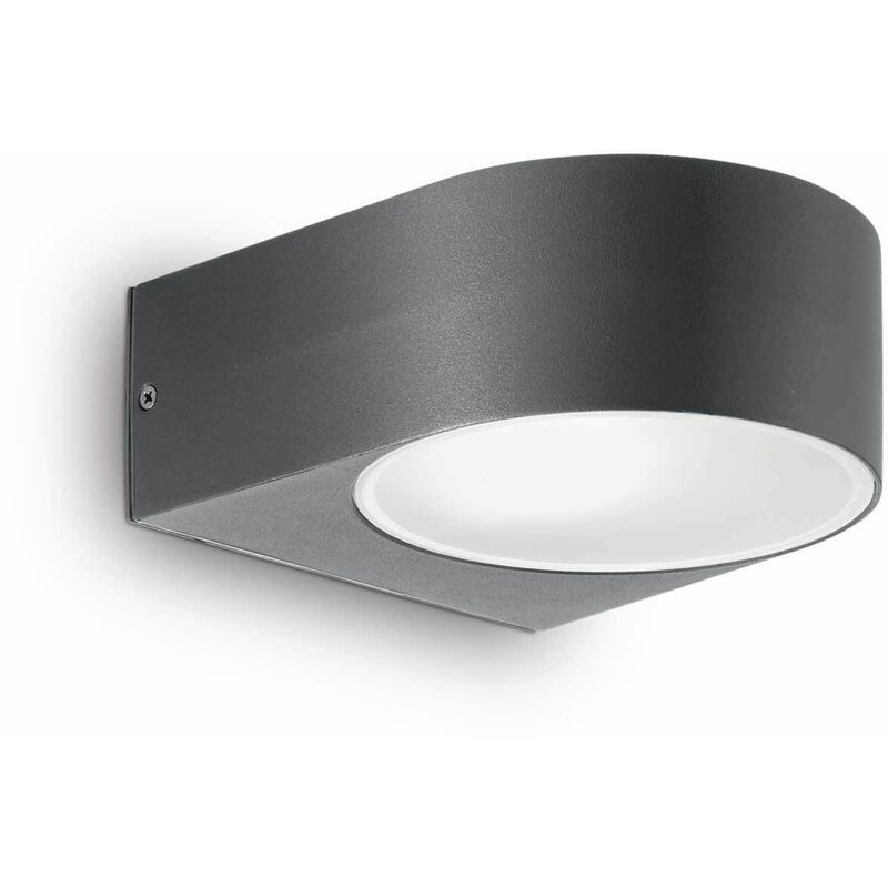 Image of 01-ideal Lux - Anthracite IKO wall light 1 bulb