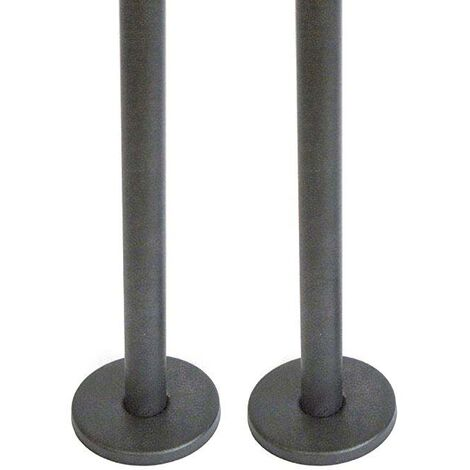 Anthracite Radiator Pipes & Shrouds 15mm