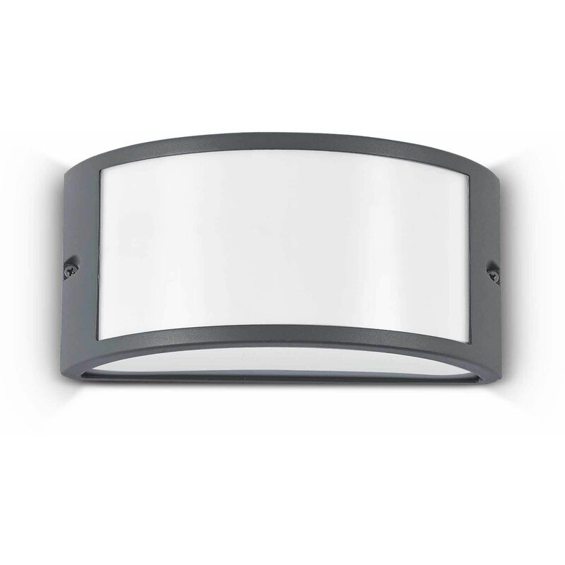 Image of 01-ideal Lux - Anthracite REX-1 wall light 1 bulb