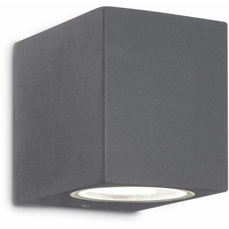 Image of 01-ideal Lux - Anthracite UP wall light 1 bulb