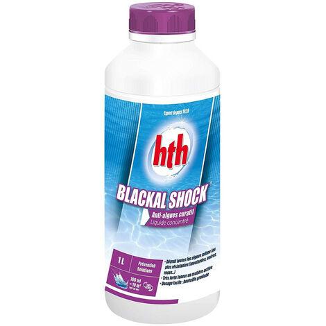 Anti-algues choc - Blackal Shock 1 Litre - HTH