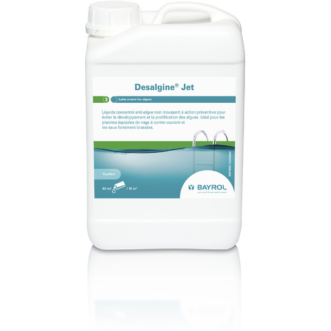 Anti-algues DESALGINE JET - Bayrol - Plusieurs modèles disponibles