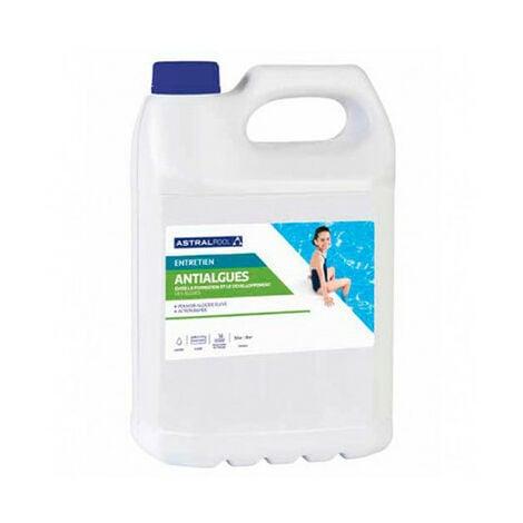 Anti-algues préventif 5 L peu moussant - 750005 - Aqua Soleil - -