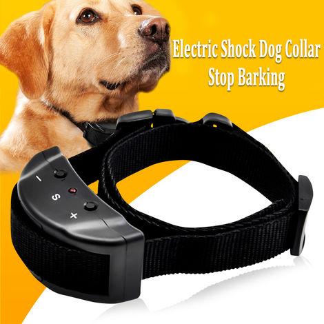 Anti Barking No Barking Remoto Choque eléctrico Vibrante Collar de entrenamiento para perros