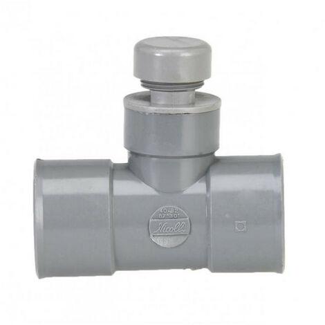 Anti-bruit et odeur en té PVC - plusieurs modèles disponibles