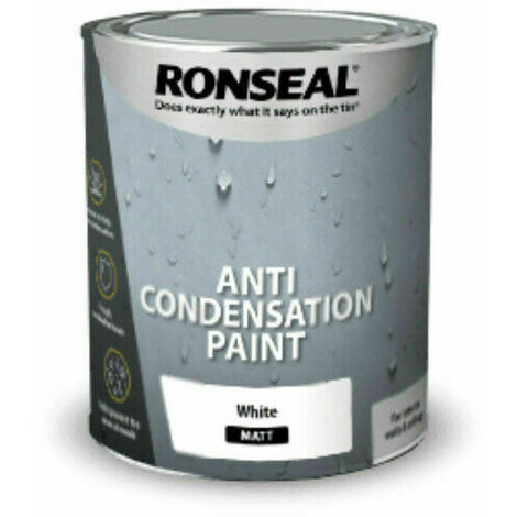 Anti Condensation Paint White Matt