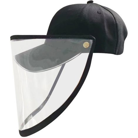 Anti-droplets Hat Detachable Design Sunhat Face Cover Outdoor Protector Stop Saliva Sunbonnet