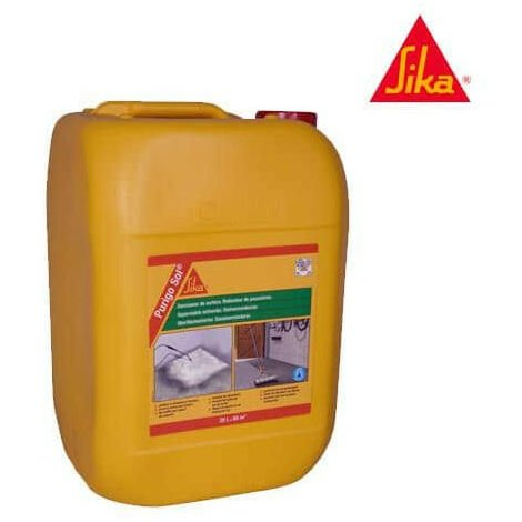 Anti-dust surface hardener SIKA - Purigo Sol - Colorless - 20L