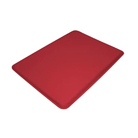 Anti Fatigue Mat High Impact Foam Cushioned Mat With Non Slip Red