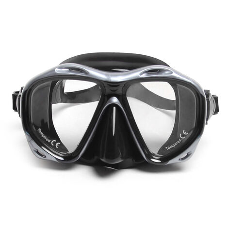 Anti-fog Diving Snorkeling Mask Two-window Scuba Diving Mask Swim Goggles Swimming Mask