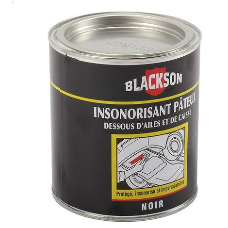 Anti-gravillonnant noir BLACKSON 1 kg