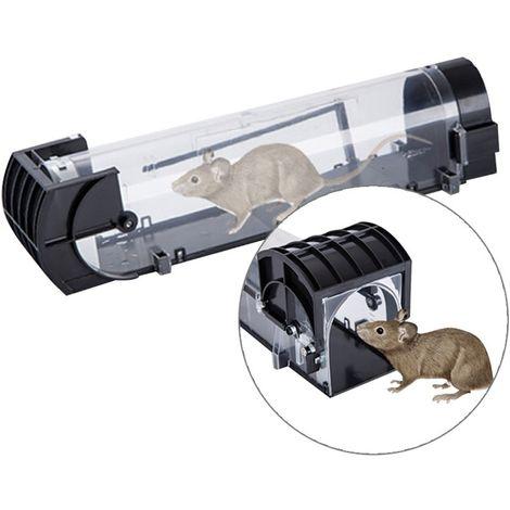 Anti insectes Répulsifs Transparent Porte Cage Humaine Animale Cage, Rat, Souris et Plus Petit Rongeurs ABS Matériel Piège