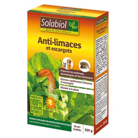 Anti-limaces et escargots 100% naturel Solabiol