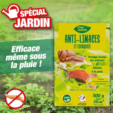 Anti limaces et escargots 500g
