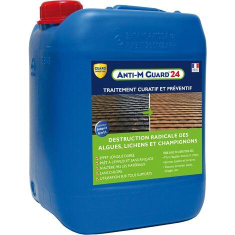 Anti-M Guard 24 Traitement curatif et préventif anti-mousse anti dépôt vert