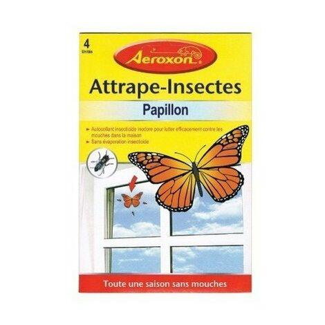 Anti-mouches adhésif fenêtre 4 pièces - MASY