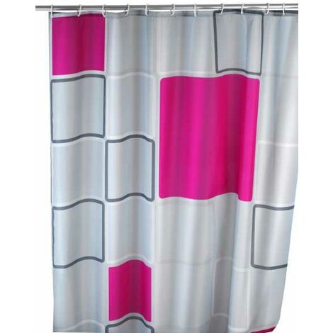Anti-mould shower curtain Abstract WENKO