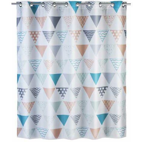 Anti-mould shower curtain Flex Ethno Flex WENKO
