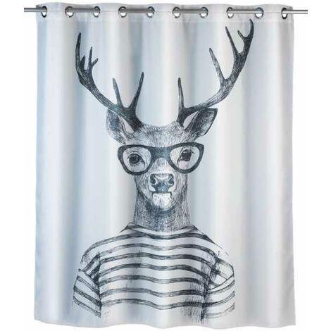 Anti-mould shower curtain Flex Mr. Deer WENKO