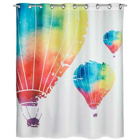 Anti-mould shower curtain In the Air Comfort Flex WENKO