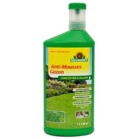 Anti mousse concentré spécial gazon. 1 litre à diluer