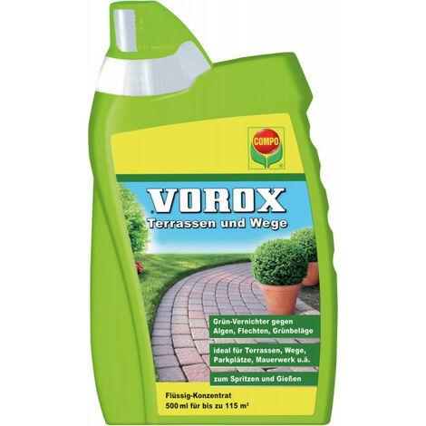 Anti mousse Terrasse et Allée 500 ml COMPO VOROX
