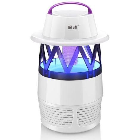 Anti Moustique Répulsifs blanc 5W 6 LED alimenté par USB aucun rayonnement Mute Photocatalyst 7 Fan Fan Fan