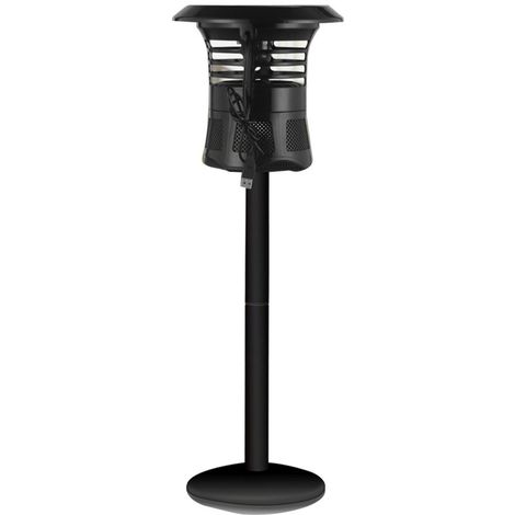 Anti Moustique Répulsifs pour la voiture et la maison Lampe anti-moustique portative de Shell d'ABS de 3W LED