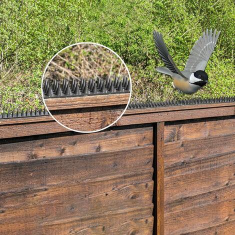 Anti Oiseaux Thorn Cloture Mur De Spike Repulsif Nail Dissuasion Outil, 10Pcs