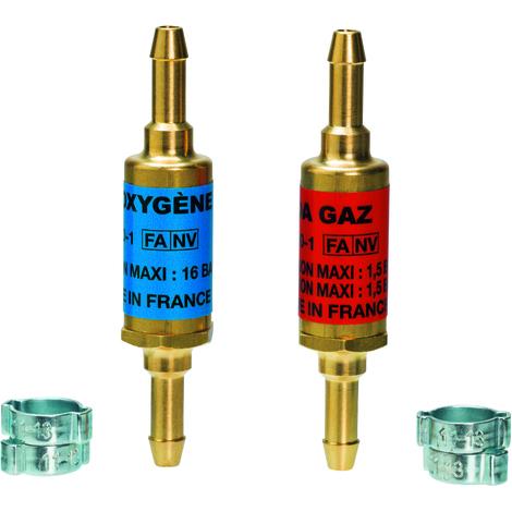 """main image of """"Anti retour tuyau O/A + 4 colliers serrage"""""""