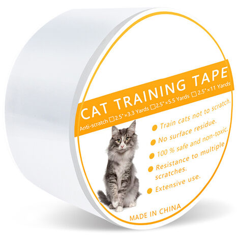 """main image of """"Anti-Scratch Cat Training Tape Furniture Sofa Protection Adhesive Tape Pet Accessories"""""""