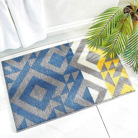 Anti-Slip Bath Mat, Indoor Doormat, Anti-Slip, Absorbent and Resistant Door Mat, (40 x 60CM), Machine Washable, Carpet for Indoor, Outdoor, Living Room, Entrance, Stairs